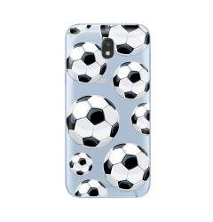 Husa Samsung Galaxy J3 (2017) Lemontti Silicon Art Football