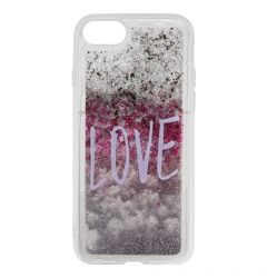 Carcasa iPhone SE 2020 / 8 / 7 Lemontti Liquid Sand Love
