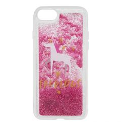 Carcasa iPhone SE 2020 / 8 / 7 Lemontti Liquid Sand Fabulous Glitter