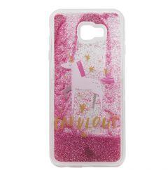Carcasa Samsung Galaxy J4 Plus Lemontti Liquid Sand Fabulous Glitter