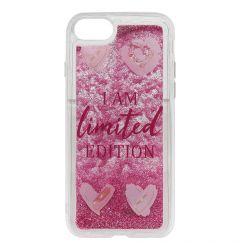 Carcasa iPhone SE 2020 / 8 / 7 Lemontti Liquid Sand I Am Limited Edition