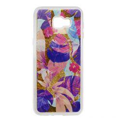 Carcasa Samsung Galaxy J4 Plus Lemontti Liquid Sand Floral Sunset