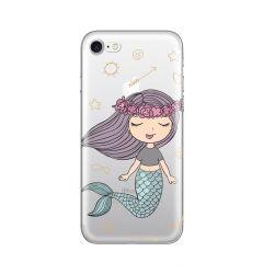 Husa iPhone SE 2020 / 8 / 7 Lemontti Silicon Art Little Mermaid
