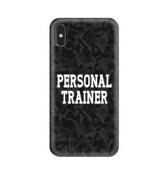 Husa iPhone XS / X Lemontti Silicon Art Personal Trainer