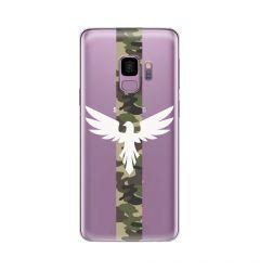 Husa Samsung Galaxy S9 G960 Lemontti Silicon Art Army Eagle