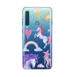 Husa Samsung Galaxy A9 (2018) Lemontti Silicon Art Unicorn
