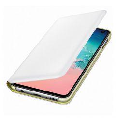 Husa Samsung Galaxy S10e G970 Samsung Book Led View White