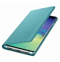 Husa Samsung Galaxy S10 Plus G975 Samsung Book Led View Green