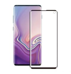Folie Samsung Galaxy S10e G970 Eiger Sticla 3D Edge to Edge Clear Black