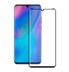Folie Huawei P30 Pro Eiger Sticla 3D Edge to Edge Clear Black