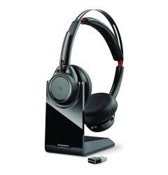 Casti Bluetooth True Wireless Plantronics Voyager Focus UC BT B825-M Negru