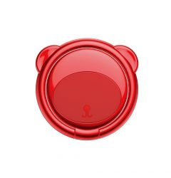 Suport Baseus Ring Bear Red