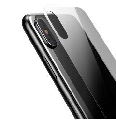 Folie iPhone XS Max Baseus Sticla Temperata pentru spate Transparent