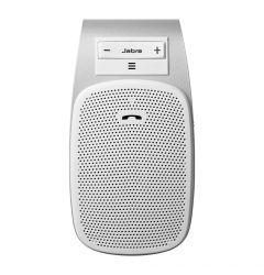 Speaker Jabra Bluetooth White Car Kit (prindere parasolar auto, ghidare vocala, Multi-Point)