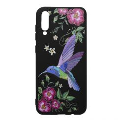 Husa Samsung Galaxy A70 Just Must Silicon Printed Embroidery Colibri