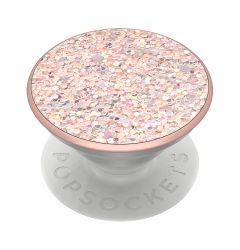 Suport Popsockets PopGrip Premium Stand Adeziv Sparkle Rose