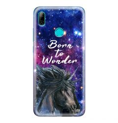 Husa Huawei P Smart (2019) Lemontti Silicon Art Born To Wonder