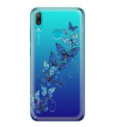 Husa Huawei Y7 2019 Lemontti Silicon Art Butterflies