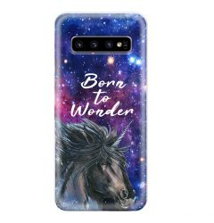 Husa Samsung Galaxy S10 G973 Lemontti Silicon Art Born To Wonder