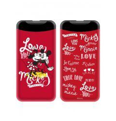 Power Bank Disney 2.1A Mickey and Minnie 002 6.000 mAh