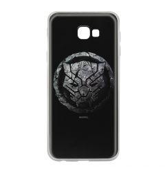 Husa Samsung Galaxy J4 Plus Marvel Silicon Black Panther 013 Black