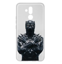Husa Huawei Mate 20 Lite Marvel Silicon Black Panther 012 Clear