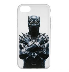Husa iPhone SE 2020 / 8 / 7 Marvel Silicon Black Panther 012 Clear