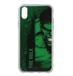 Husa iPhone X Marvel Silicon Hulk 001 Green