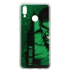 Husa Huawei P Smart (2019) / Honor 10 Lite Marvel Silicon Hulk 001 Green