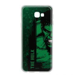 Husa Samsung Galaxy J4 Plus Marvel Silicon Hulk 001 Green