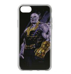Husa iPhone SE 2020 / 8 / 7 Marvel Silicon Thanos 003 Black