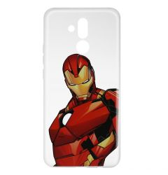 Husa Huawei Mate 20 Lite Marvel Silicon Iron Man 005 Clear