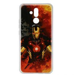 Husa Huawei Mate 20 Lite Marvel Silicon Iron Man 003
