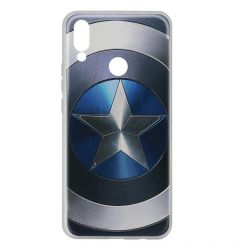 Husa Huawei P20 Lite Marvel Silicon Captain America 005 Blue
