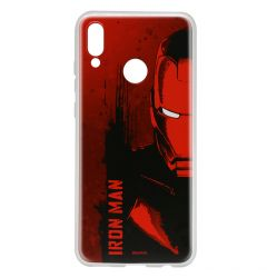 Husa Huawei P Smart (2019) / Honor 10 Lite Marvel Silicon Iron Man 004 Red