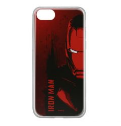 Husa iPhone SE 2020 / 8 / 7 Marvel Silicon Iron Man 004 Red