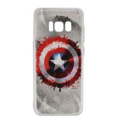 Husa Samsung Galaxy S8 G950 Marvel Silicon Captain America 019 Gray