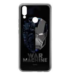 Husa Huawei P Smart (2019) / Honor 10 Lite Marvel Silicon War Machine 001 Silver