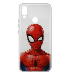 Husa Huawei P Smart (2019) / Honor 10 Lite Marvel Silicon Spider-Man 012 Clear