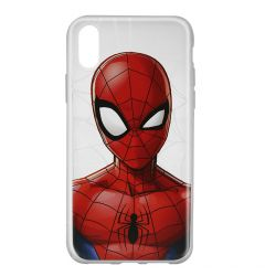 Husa iPhone X Marvel Silicon Spider-Man 012 Clear