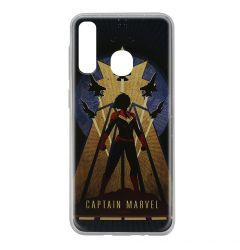 Husa Samsung Galaxy A20e Marvel Silicon Captain Marvel 002 Navy Blue