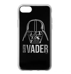 Husa iPhone SE 2020 / 8 / 7 Star Wars Silicon Luxury Darth Vader 010 Silver