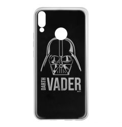 Husa Huawei P Smart (2019) / Honor 10 Lite Star Wars Silicon Luxury Darth Vader 010 Silver