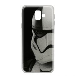 Husa Samsung Galaxy J6 Plus Star Wars Silicon Stormtrooper 001 Gray