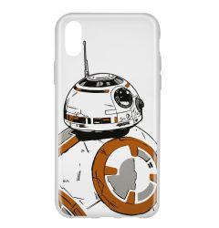 Husa iPhone X Star Wars Silicon BB-8 009 Clear