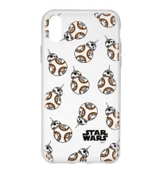 Husa iPhone X Star Wars Silicon BB-8 004 Clear