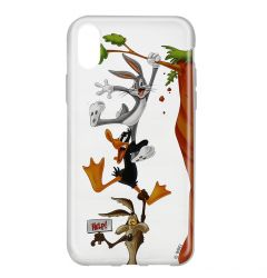 Husa iPhone X Looney Tunes Silicon Looney Tunes 005 Clear