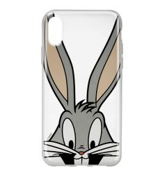 Husa iPhone X Looney Tunes Silicon Bugs 001 Clear