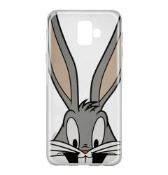 Husa Samsung Galaxy J6 Plus Looney Tunes Silicon Bugs 001 Clear