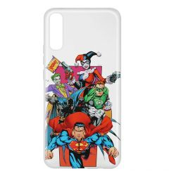Husa Samsung Galaxy A50 DC Comics Silicon Justice League 004 Clear